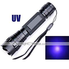 Linternas LED (A Prueba de Agua / Recargable / Resistente a Golpes / Bisel de Impacto / Emergencia / Luz Ultravioleta / Detector de