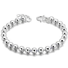 Γυναικεία Vintage Βραχιόλια Ασήμι Στερλίνας Ασημί Κοσμήματα Για Καθημερινά Causal Αθλητικά Χριστουγεννιάτικα δώρα 1pc