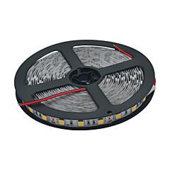 JIAWEN® 5 M 300 5050 SMD Warm Wit / Wit Knipbaar / Koppelbaar 60 W Flexibele LED-verlichtingsstrips DC12 V