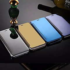 Na Etui iPhone 6 / Etui iPhone 6 Plus Lustro / Flip Kılıf Futerał Kılıf Jeden kolor Twarde Metal iPhone 6s Plus/6 Plus / iPhone 6s/6