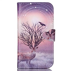 Look Very Happy Pattern PU Leather Case with Card Slot and Stand for Samsung Galaxy S4 mini/S3mini/S5mini/S3/S4/S5/S6