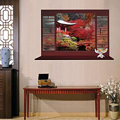 חיות / בוטניקה / רומנטיקה / דוממים / אופנה / פרחים / פנטזיה מדבקות קיר מדבקות קיר תלת מימד , PVC 60x90x 0.1cm 23.622x35.433x 0.03937 inch)