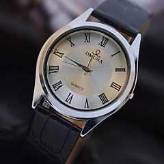 L.WEST Men's Analog Quartz Watch Wrist Watch Cool Watch Unique Watch