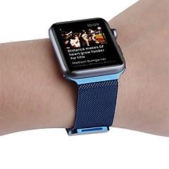 Loop milanês para relógio de maçã 38mm pulseira de relógio de substituição de aço inoxidável 42mm