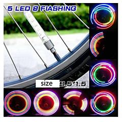 Luzes de Bicicleta Outro - 2 Peças - 4 ou mais Modo 90 Cores em mudança AG10 x 3 Bateria Ciclismo/Moto / Condução / motocycle Transparente