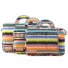 Patterns de notes 13 '' 14 '' 15 '' de protection de sac à main d'ordinateur portable de manchon (couleurs assorties)