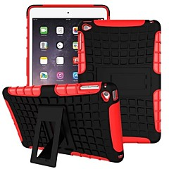 Miitary Army Plastic+Silicone Rubber Gel 2 in 1 Shockproof Hard Case With Stand Cover for iPad Air(Assorted Colors)