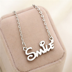 Alloy Necklace Pendant Necklaces Daily / Casual / Sports 1pc