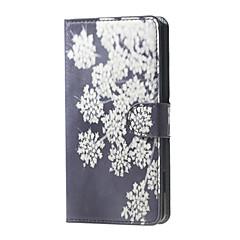Kompatibilitás LG tok tokok Kártyatartó Pénztárca Állvánnyal Flip Teljes védelem Case Virág Kemény Műbőr Bőr mert LG LG Nexus 5X
