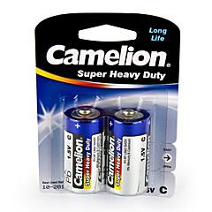 Camelion de super pesados baterias de pilhas tamanho C (2pcs)