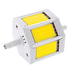 10W R7S LED-maïslampen T 3 COB 960 lm Warm wit / Koel wit Decoratief AC 85-265 V 1 stuks