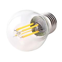 G45 4W E27 400LM 360 Degree Warm/Cool White Color Edison Filament Light LED Filament Lamp (AC220V)