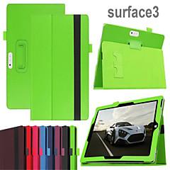 suojaava tabletti tapauksissa nahka tapauksissa kiinnike kotelo Microsoft Surface 3