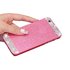 Voor iPhone X iPhone 8 iPhone 5 hoesje Hoesje cover Strass Achterkantje hoesje Glitterglans Hard PC voor iPhone X iPhone 7s Plus iPhone 8