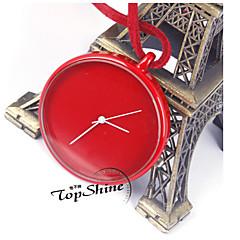 Damskie Zegarek kieszonkowy Kwarcowy Skóra Pasmo Czarny Biały Niebieski Czerwony