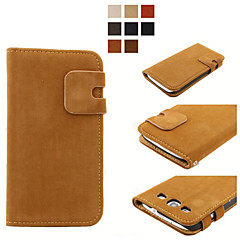 Luxury Soft PU Leather Case  Wallet Style Flip Stand Phone Back Cove For Samsung Galaxy S3/S4/S4 Mini S6/S6 Edge Plus