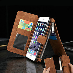 Split Magnetic Force Genuine Wallet Cards Leather for iPhone 7 7 Plus 6s 6 Plus SE 5s 5