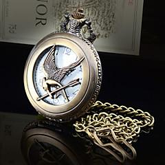 Женские Карманные часы Секундомер Кварцевый сплав Группа Бронза