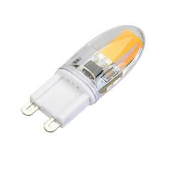 3 G9 Luces LED de Doble Pin T 1 COB 300 lm Blanco Cálido / Blanco Fresco Regulable AC 100-240 V 1 pieza