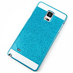 For Samsung Galaxy Note Stødsikker Etui Bagcover Etui Glitterskin PC for Samsung Note 5 Note 4 Note 3