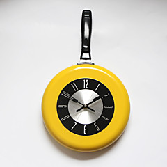Metal Pan Wall Clock Colorful Kitchen New Design Wall Clock  Home Decor