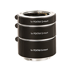 Kooka kk-pq47a af alumínio 3 tubos de extensão para a série PENTAX q (10 milímetros 16 milímetros câmeras 21mm)