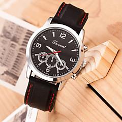 Men's Fashion  Outdoor Movement Third Eye Quartz Sport Steel Belt Watch(Assorted Colors) Wrist Watch Cool Watch Unique Watch