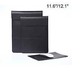 수직 스타일 lichee 곡물 봉투 태블릿 및 / 망막 맥북 에어에 대한 노트북 슬리브 가방 케이스 11.6 / 12.1