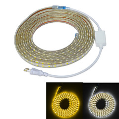 Jiawen vandtæt 65W 4000lm 300x5050 SMD LED fleksibel lys strimler (5 m længde / 220v)