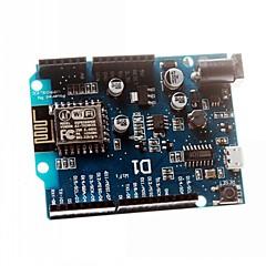 escudo esp8266 basada electrónica inteligente Wemos esp-12e wifi d1 uno de arduino compatible