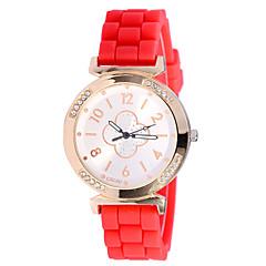 New  Luxury Casual Silicone Waterproof Wristwatch Dress Watches Reloj Mujer Watches Women Female Watch