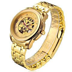 Men's Watch Gold Machinery Hollow Waterproof Watch Wrist Watch Cool Watch Unique Watch
