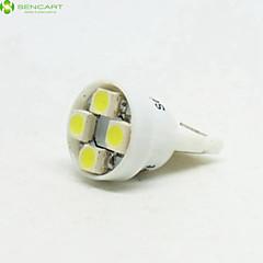 X SMD 3528 4 ×의 T10 149 168 W5W 4 6500K 주도 자동차 테일 라이트 / 악기 램프 DC12V
