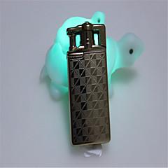 briquets métalliques expédiés boutique plumes de la tête de fantômes créative