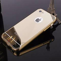 Til iPhone 8 iPhone 8 Plus iPhone 5 etui Etuier Belægning Spejl Bagcover Etui Helfarve Hårdt Akryl for iPhone 8 Plus iPhone 8 iPhone