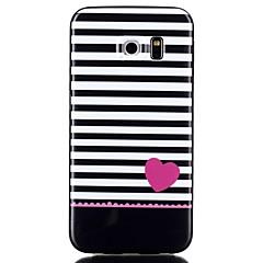 szeretni mintás TPU telefon esetében Galaxy S6 / Galaxy S6 él / Galaxy S6 szélén plusz / Galaxy S5