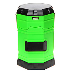 Portable Multifunctions Solar Rechargeable / AC Charging / 3 AA Lamp Outdoor Camping Lantern Handle Light