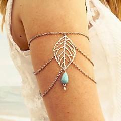 Dames Lichaamssieraden Armsieraad Body Chain / Belly Chain Modieus Kostuum juwelen Turkoois Drop Sieraden Voor Dagelijks