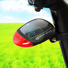 Eclairage de Velo Rear Bike Light Etanche / Transport Pratique more Lumens Solaire Autres Rouge Cyclisme-Autres