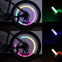 Cykellys , ventilhætten blinkende lys / sikkerhedslys / Hattelys - 1 / 3 Tilstand 80 Lumens Vanntett AG10 x 100mAh BatteriCykling/Cykel /