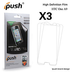 iPush grande transparence hd protecteur d'écran LCD pour HTC One A9 (3 pièces)