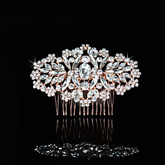 Vintage Charming Design Wedding Bride  Starfish Headband Cown Crystal Gold Hair Accessior Mermaid