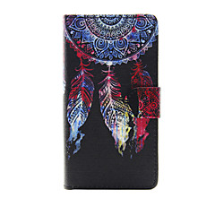 For Apple iPhone 7 7 Plus iPhone 6s 6 Plus iPhone SE 5s 5 Case Cover The Dream Catcher Pattern PU Leather Cases