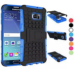 2 in 1 dual-kleuren afneembare PC + TPU hybride koffer met standaard voor de Samsung Galaxy s5mini / S4 / S5 / s6 / s6 edge / s6 rand plus