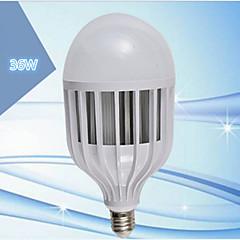 1 pcs LERHOME E26/E27 36W 72SMD 5730 Cool White G95 Cage Type  Decorative Globe Bulbs 220 V