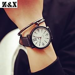 Мужской Спортивные часы Кварцевый Кожа Группа Черный бренд-