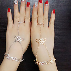 Ring Wedding / Party / Daily / Casual Jewelry Alloy Women Midi Rings 1pc,Adjustable Gold / Silver