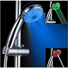 3 Modul de funcționare color multifuncțional schimbare a condus duș cu efect de ploaie de duș cap