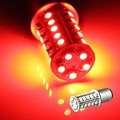 2 * auton 1157 vilkku pysäköinti hännän lamppu lamppu 3528smd punainen 30 led valo 12v