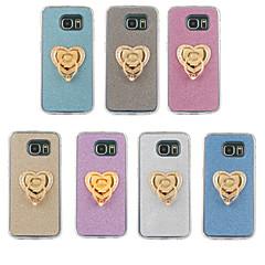 tpu glitter jauhe haltija Samsung Galaxy S6 reuna plus / S6 reuna / S6 / S5 / S4 / S3 / s5mini / s4mini valikoituja väri